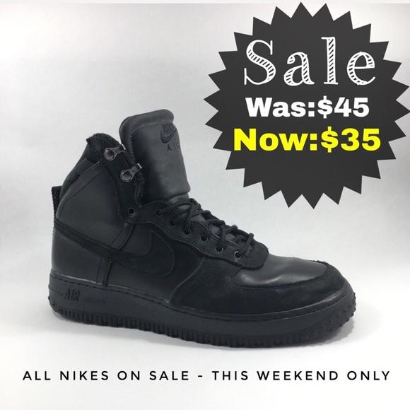 promo code 80741 7ca64 Nike Limited Edition Sportswear Air Force 1 Boot. M 5a73dd8ddaa8f69931197f34